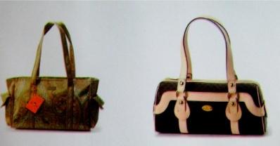 가방 사진 인쇄한 모습