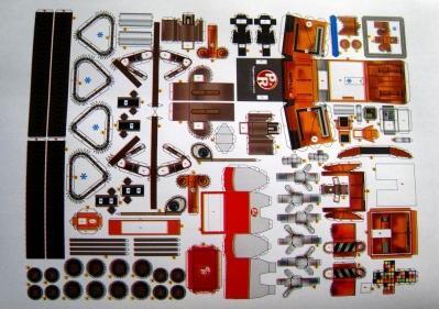 Wall-E 종이접기 인쇄한 사진